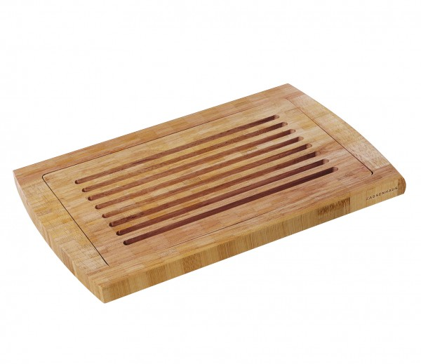 Brotschneidbrett aus Bambus