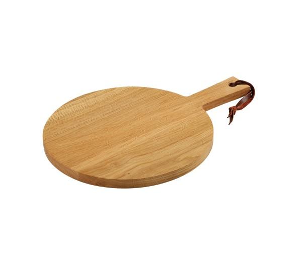 Käse-/Steakplatte, Eiche Ø 30 cm