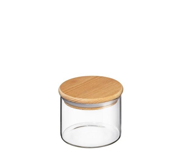 Vorratsglas mit Holzdeckel